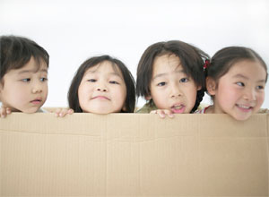 stock photo of group of kids